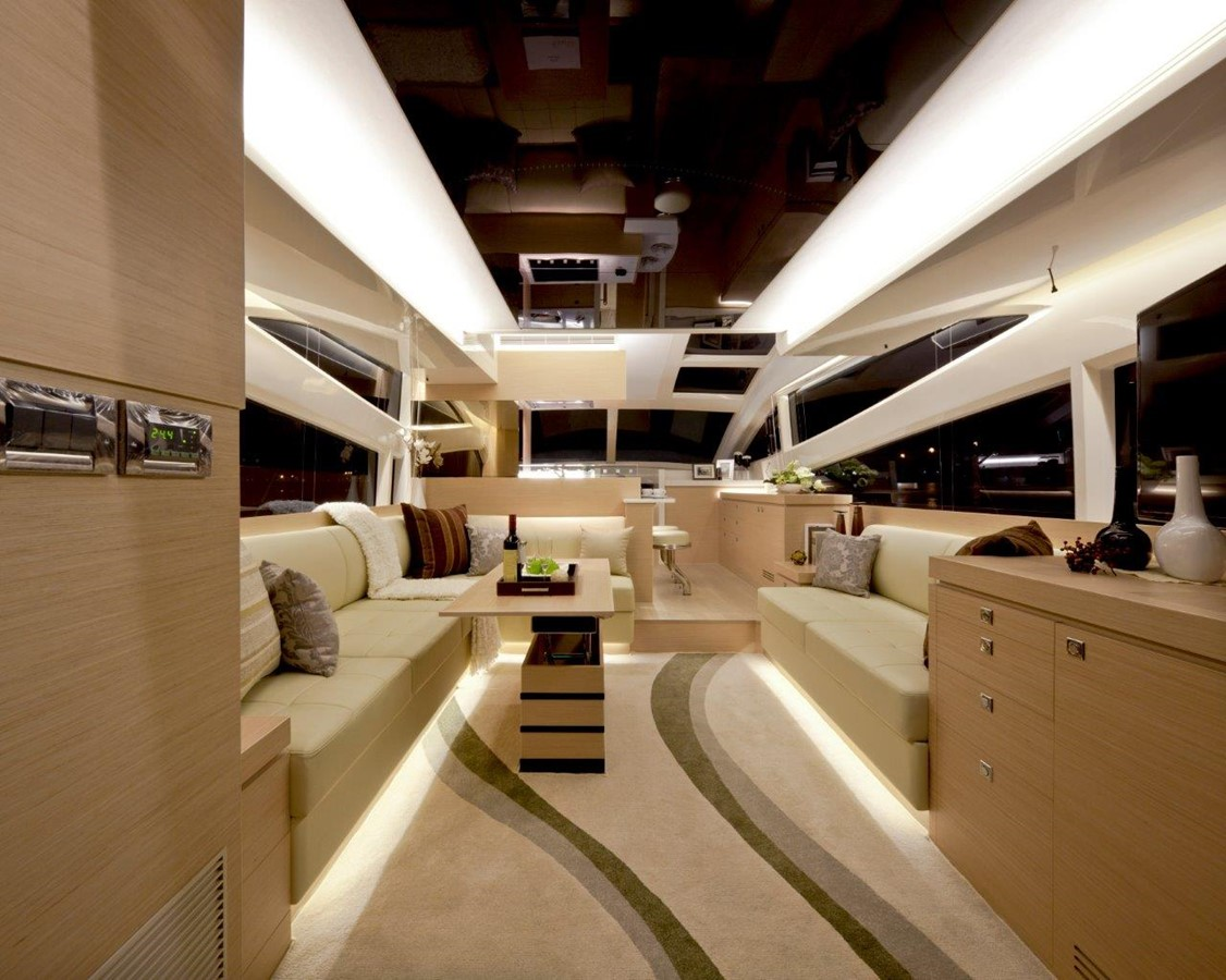 Main Salon  2021 HORIZON E56 Motor Yacht 2205405