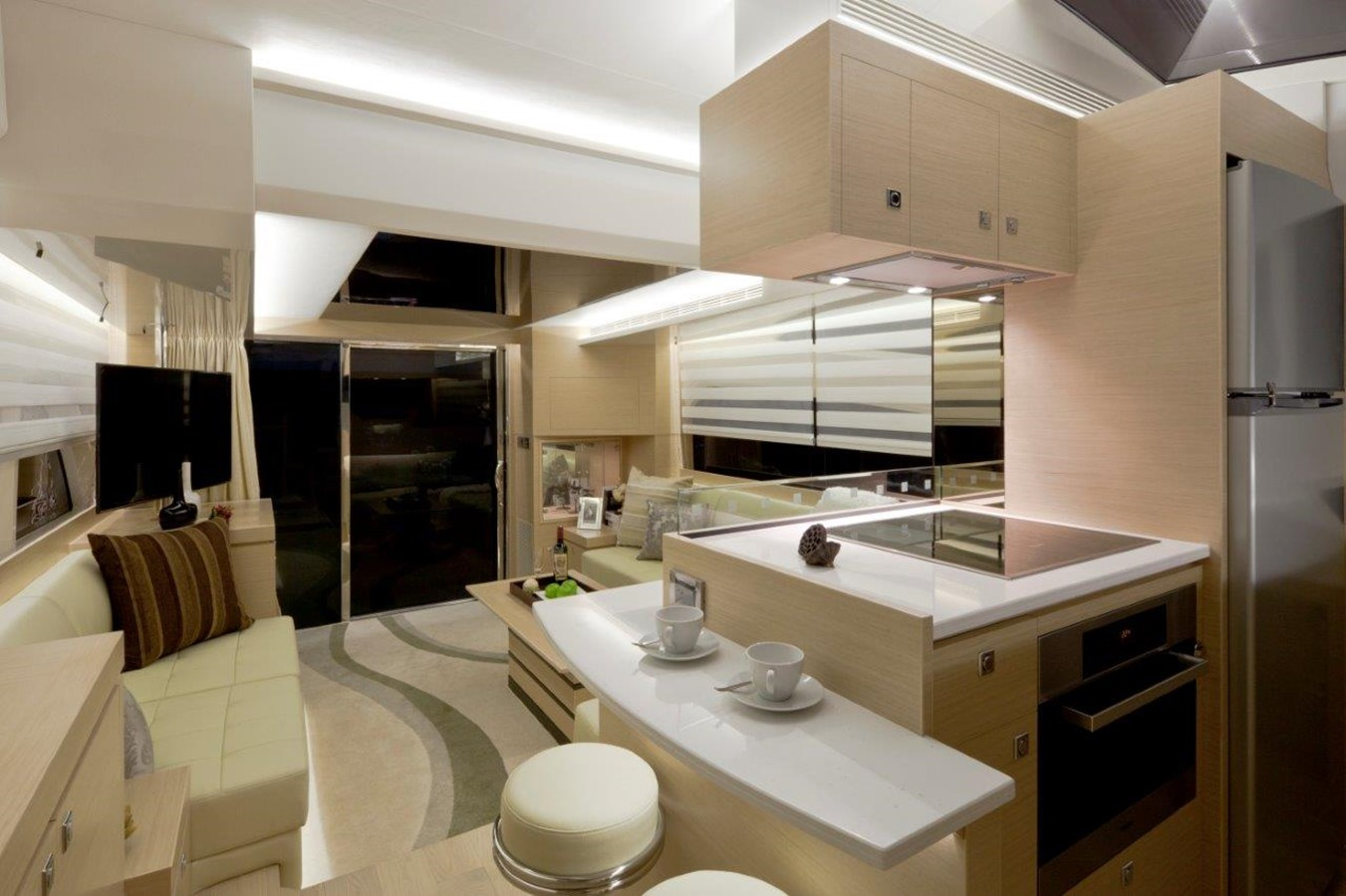 Galley 2021 HORIZON E56 Motor Yacht 2205414