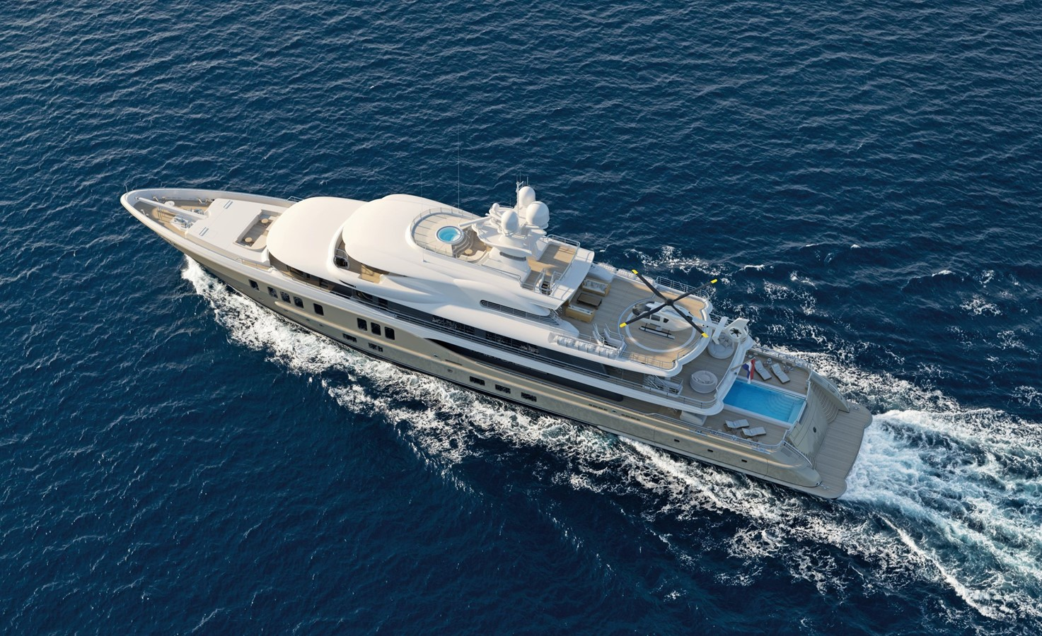 2021 AMELS AMELS 242 Mega Yacht 2207676