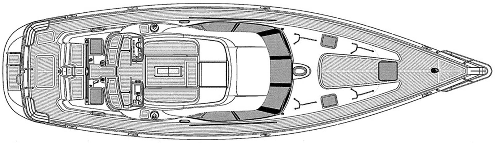 oyster-575-layout-2 2011 OYSTER MARINE LTD Oyster 575 Center Cockpit 2939052