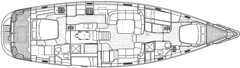 2011 OYSTER MARINE LTD Oyster 575 Center Cockpit 2480822