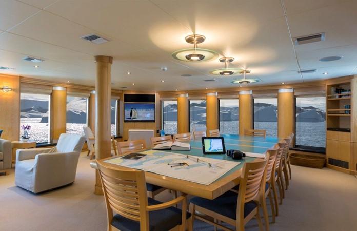 Main Salon 1974 AUROUX SHIPYARD Research Yacht  2223321