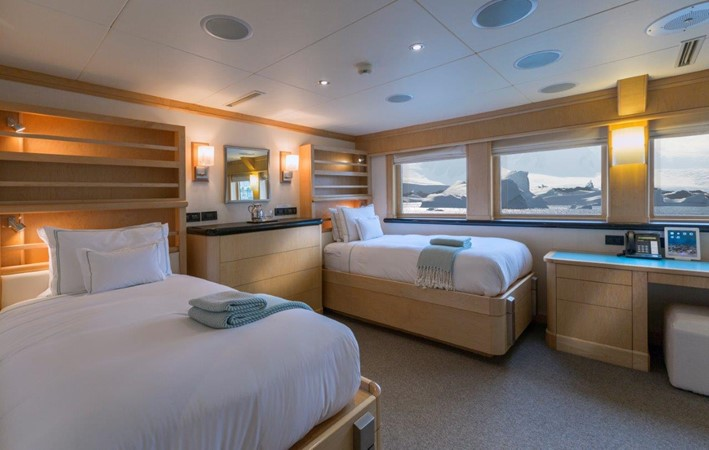 Twin Stateroom To Starboard 1974 AUROUX SHIPYARD Research Yacht  2223327