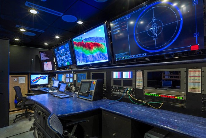 Mission Control Room 1974 AUROUX SHIPYARD Research Yacht  2223340
