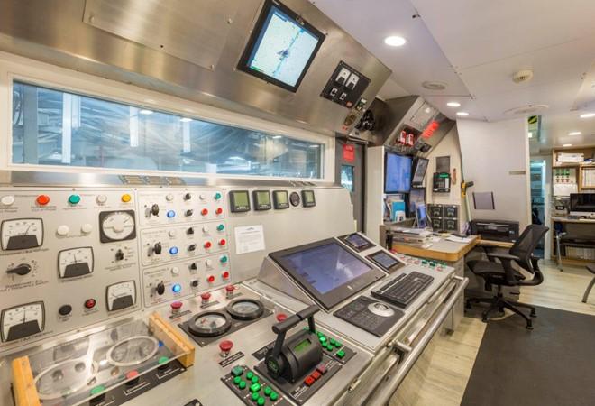 Engine Control Room 1974 AUROUX SHIPYARD Research Yacht  2223363