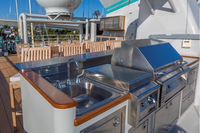 Bar On Sundeck 1974 AUROUX SHIPYARD Research Yacht  2223370