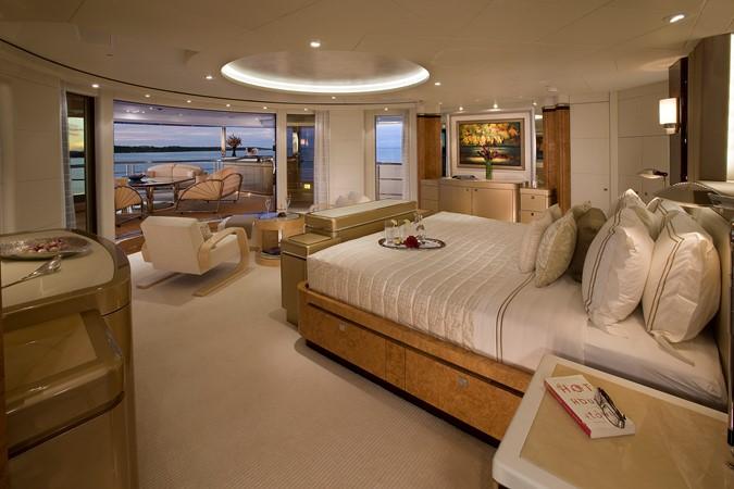 Bridge Deck Master Stateroom Looking Aft 2010 NOBISKRUG  Motor Yacht 2317442