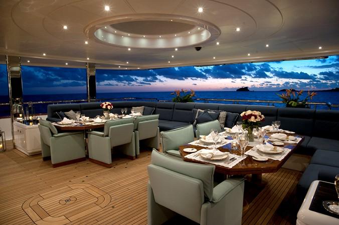 Main Aft Deck, Tables Join Together 2010 NOBISKRUG  Motor Yacht 2317458