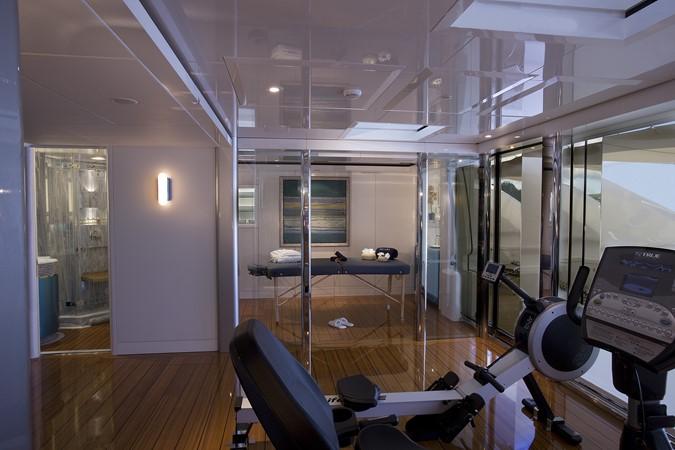 Private Gym and Massage Room on Sun Deck 2010 NOBISKRUG  Motor Yacht 2317459