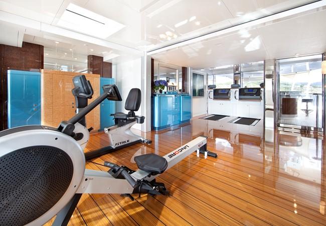 Private Gym and Massage Room on Sun Deck 2010 NOBISKRUG  Motor Yacht 2317460