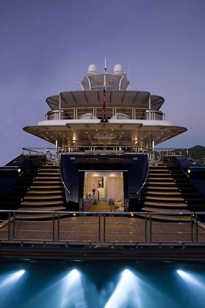 Stern at Night 2010 NOBISKRUG  Motor Yacht 2317473