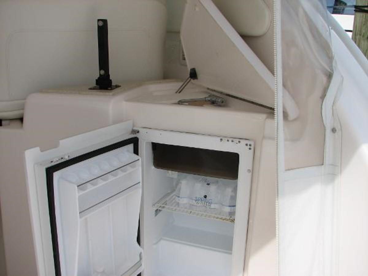 Helm Area Refrigerator and Sink 2008 TIARA 4300 Sovran Express 2249879
