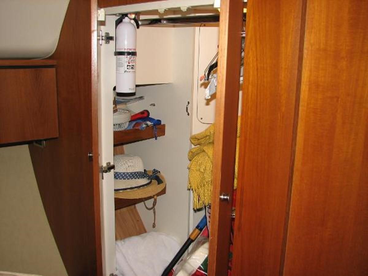 Owner's Stateroom Storage Locker 2008 TIARA 4300 Sovran Express 2249886