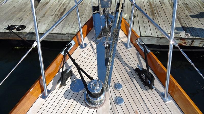 Stemhead 1999 LYMAN MORSE BOAT CO. Hood Custom 60 Aft Cockpit 2256575