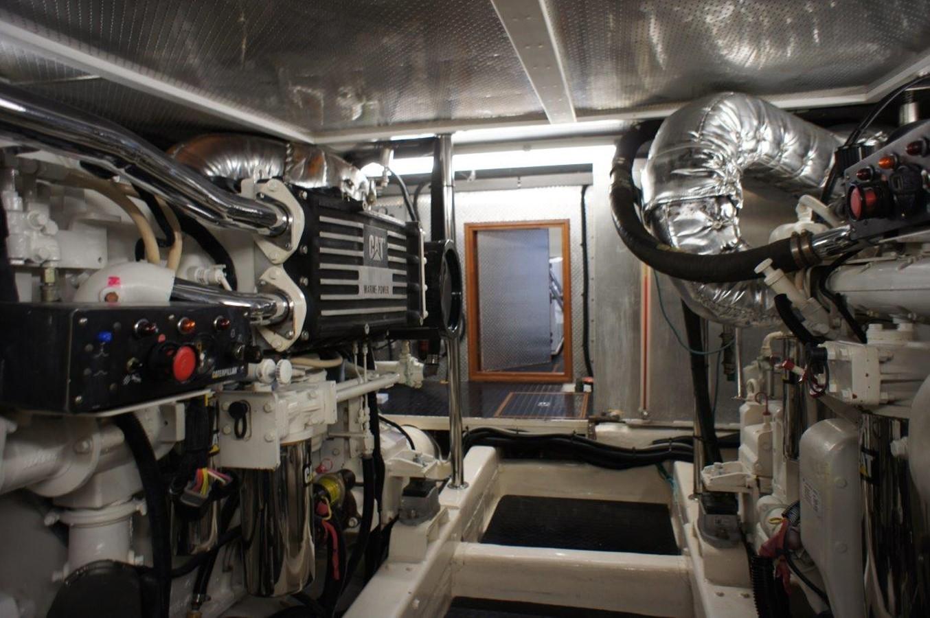Engine Room 2002 HORIZON Sedan Motoryacht Motor Yacht 2268666