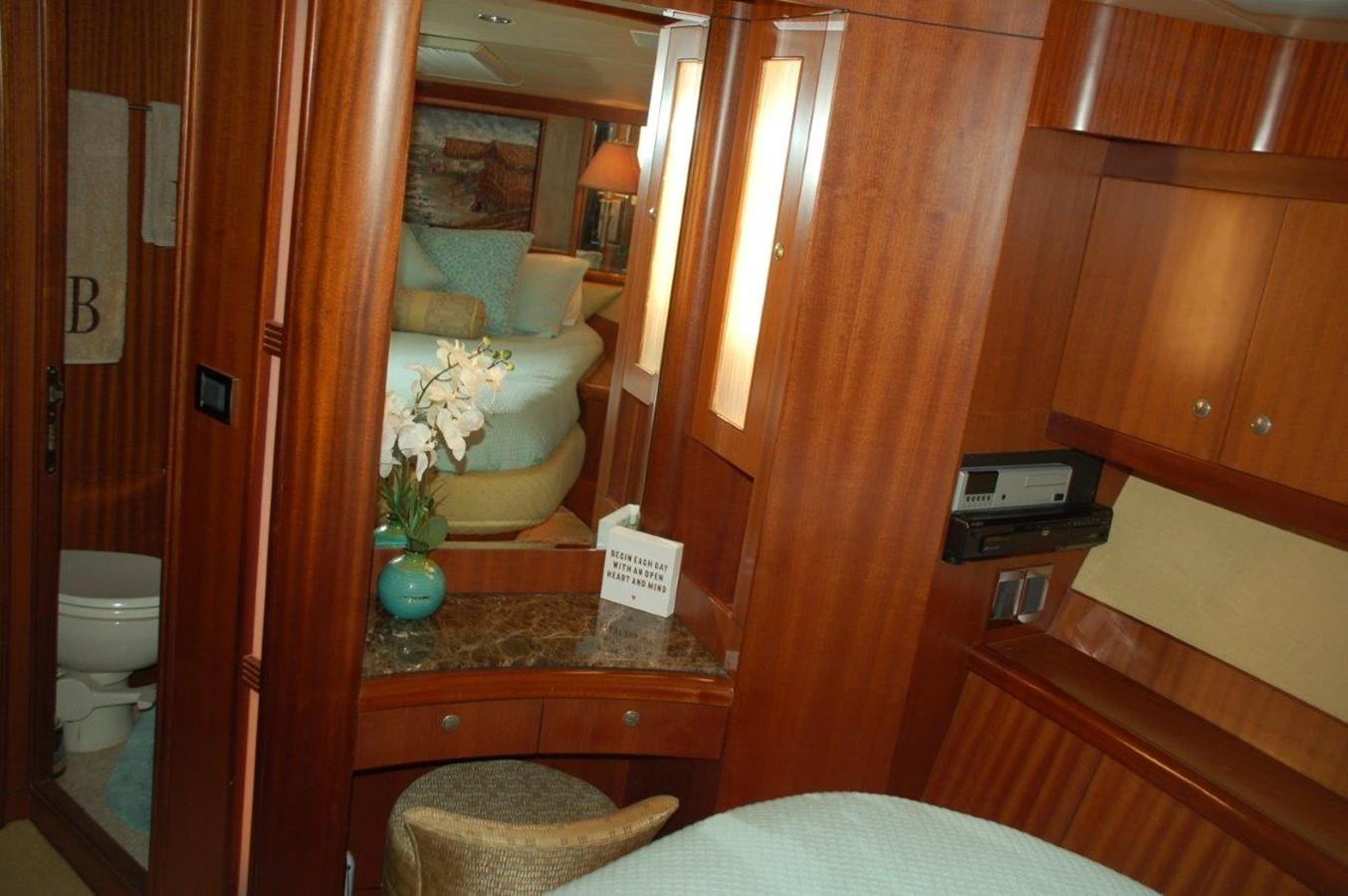 Master Stateroom 2002 HORIZON Sedan Motoryacht Motor Yacht 2316630
