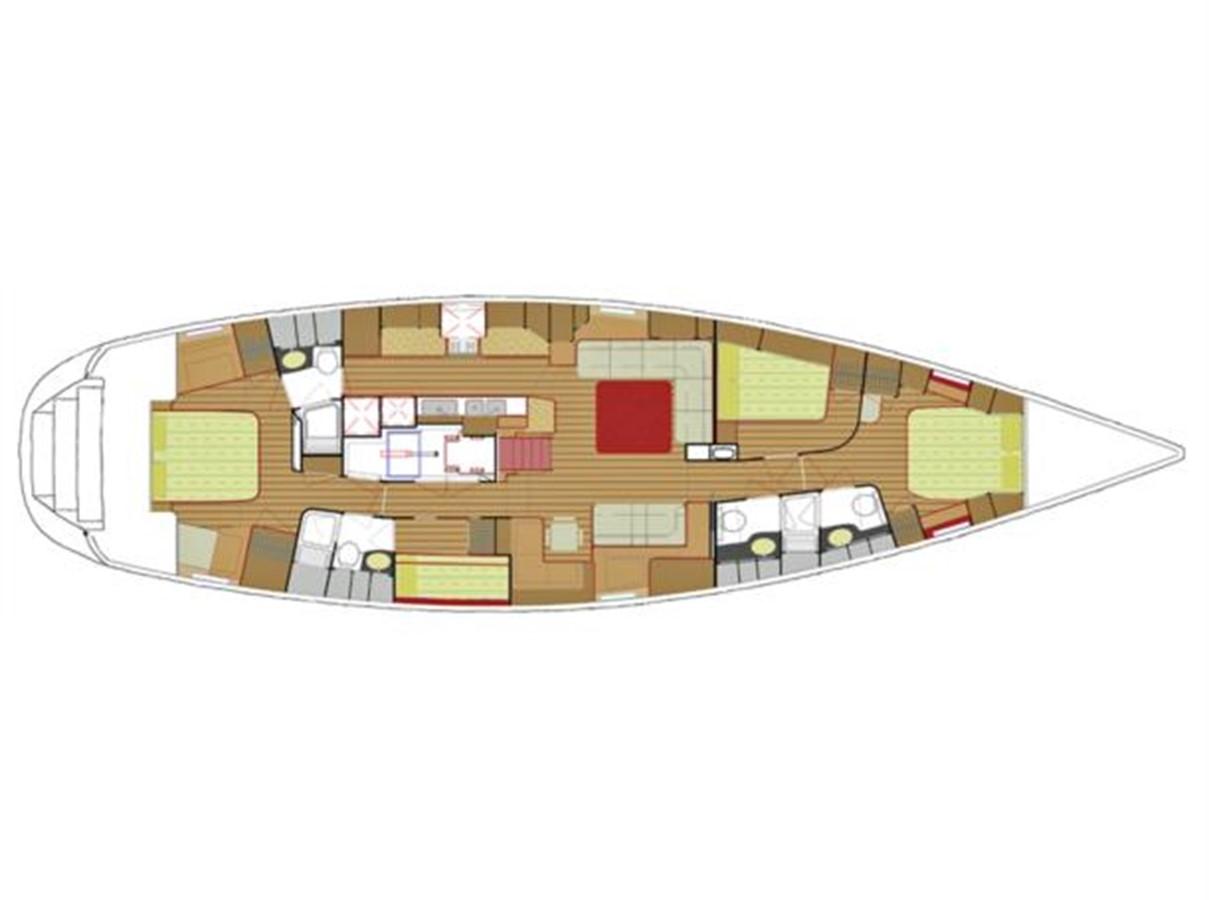 2007 HYLAS Hylas 70 centreboard cruiser Sloop 2274442