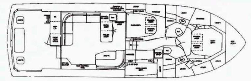 Interior Layout 1990 BERTRAM   2284482