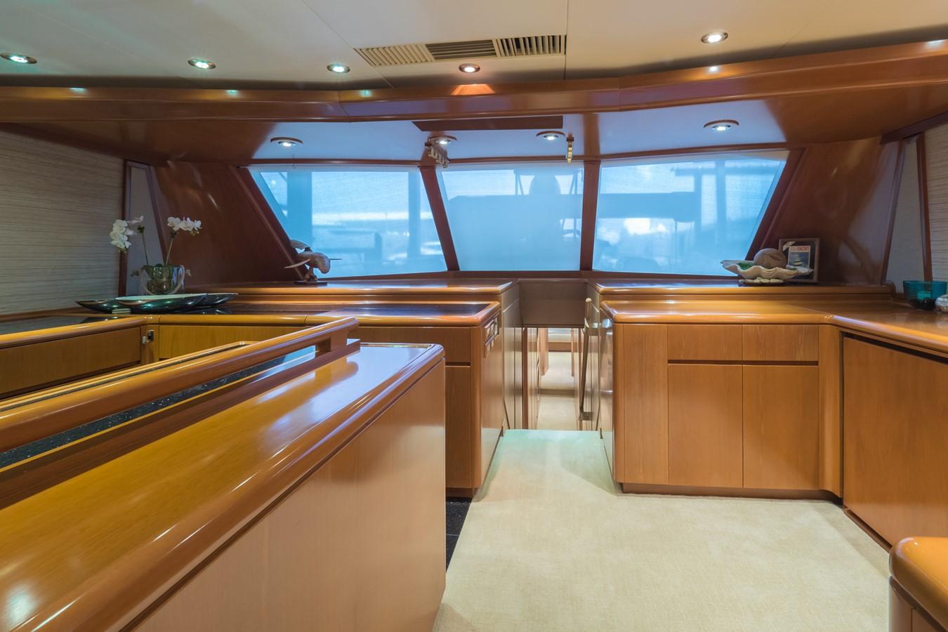 Starboard Side Looking Forward 1985 FEADSHIP Yacht Fisherman Sport Fisherman 2313194