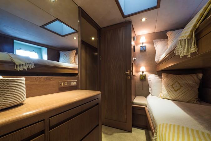 Starboard Side Guest Cabin 1985 FEADSHIP Yacht Fisherman Sport Fisherman 2313199