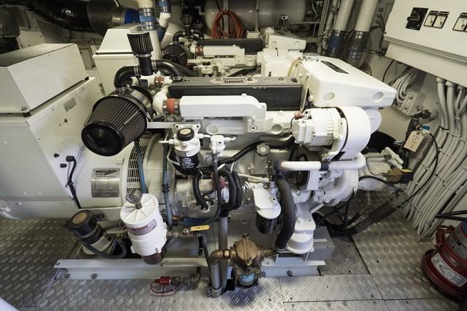 Twin 35 KW Northern Lights Generator 1985 FEADSHIP Yacht Fisherman Sport Fisherman 2313233