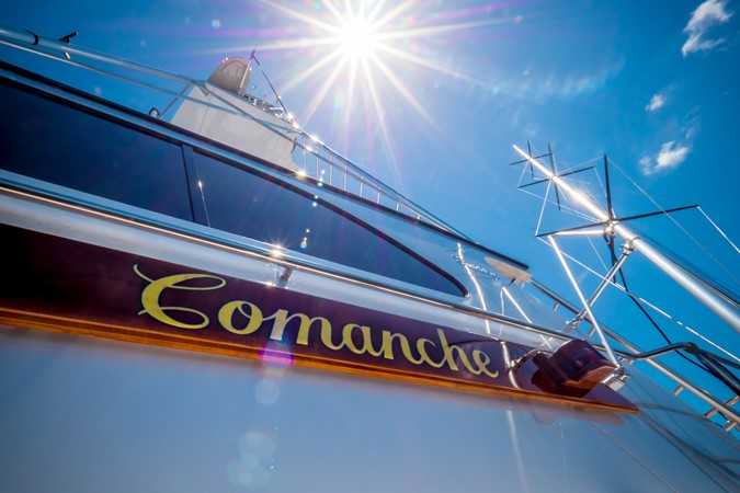 Nameboards 1985 FEADSHIP Yacht Fisherman Sport Fisherman 2313237