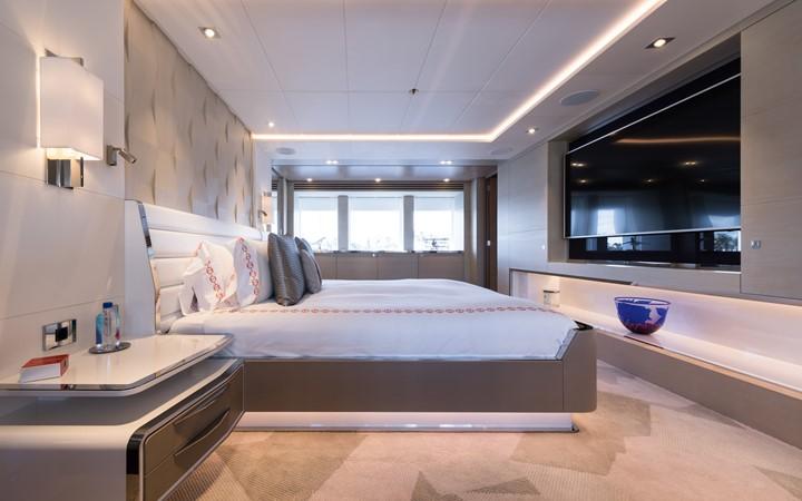 Full-beam Master Stateroom 2017 HEESEN YACHTS  Motor Yacht 2314356