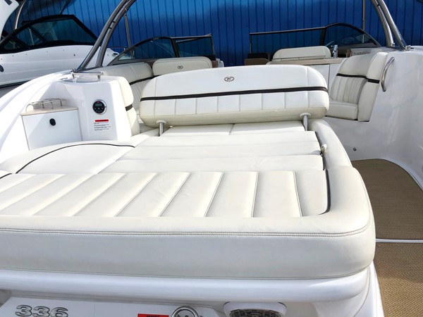 Aft/transom seating area view 2 2014 COBALT 336 Deck Boat 2308760