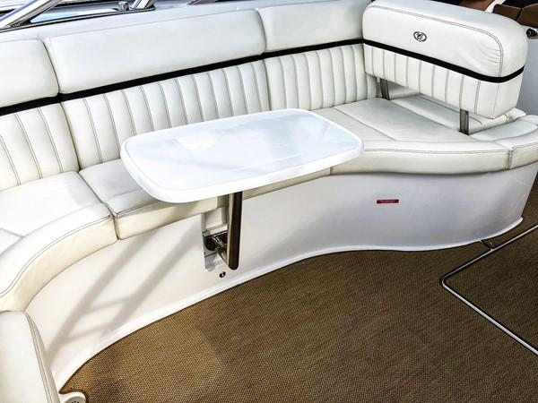 Cockpit table installed 2014 COBALT 336 Deck Boat 2308763