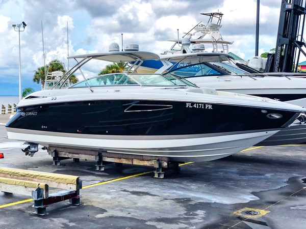 STBD profile 2014 COBALT 336 Deck Boat 2308770