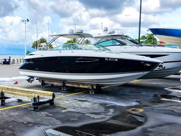 STBD profile 2 2014 COBALT 336 Deck Boat 2308778