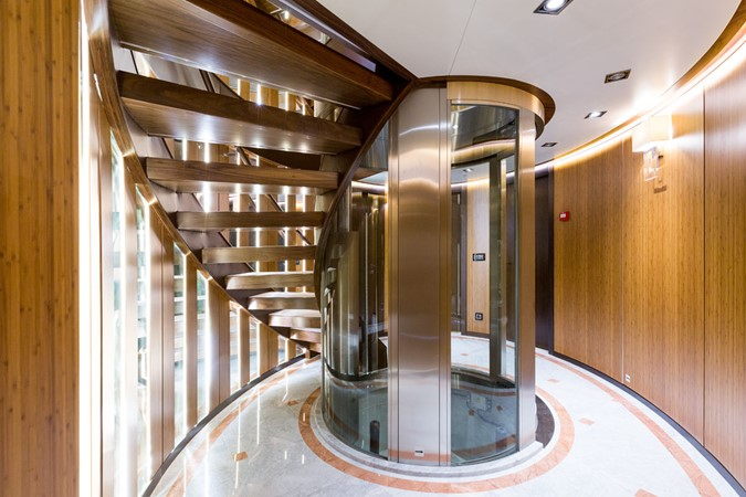 MY Maybe - Elevator and main staircase 2016 MetalSHIPS & Docks   Displacement 2309473