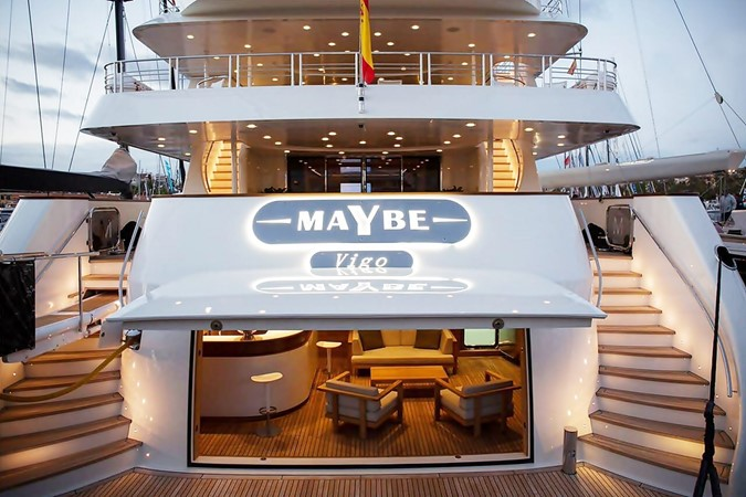 MY Maybe - Beach Club 2016 MetalSHIPS & Docks   Displacement 2309506