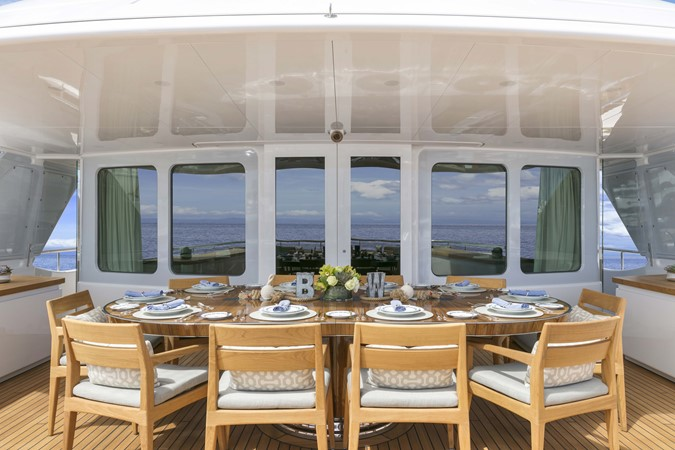 Bridge Deck Dining 2000 FEADSHIP Tri-Deck Motor Yacht 2314157