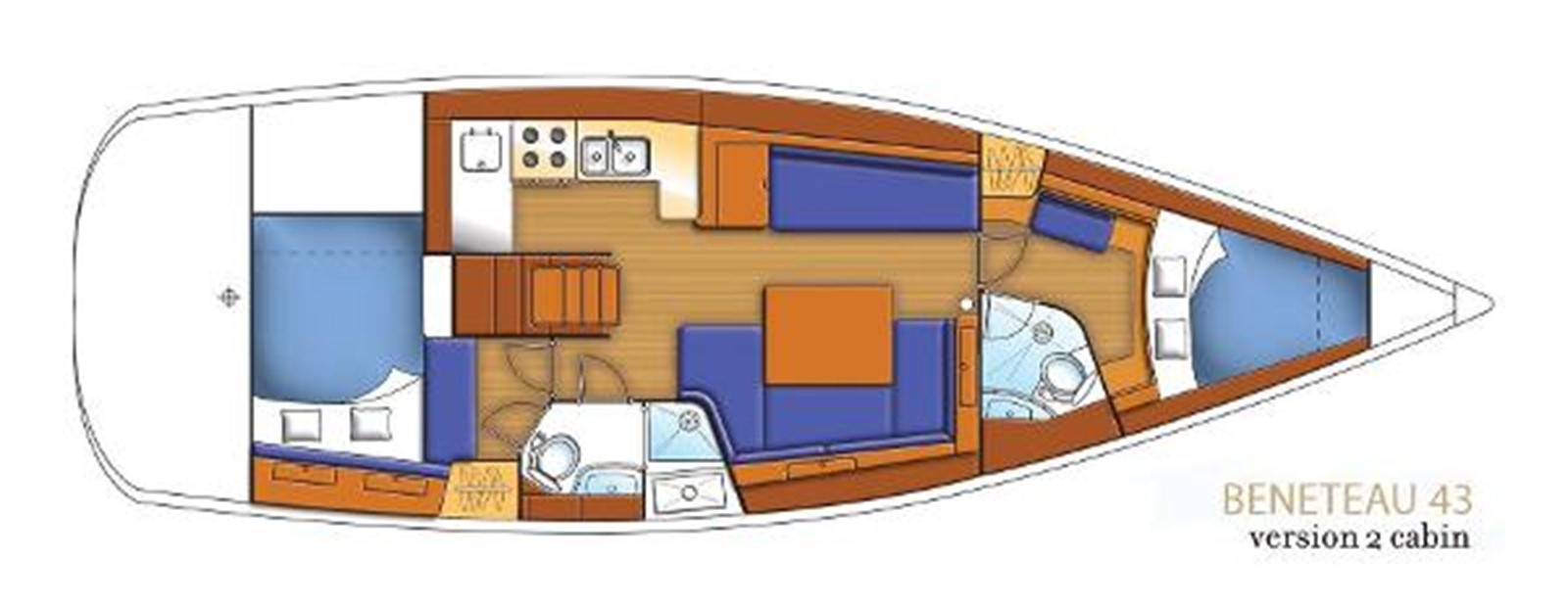 2008 BENETEAU Model Oceanis 43 Classic Yacht 2687137