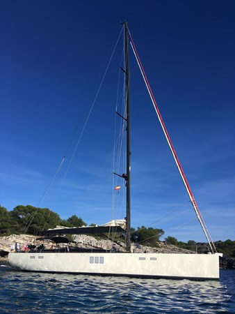 Anchorage Position - Tuscan Spirit 2014 HANSE Custom Build 650 Cruising/Racing Sailboat 2315908