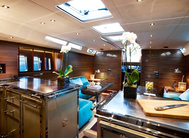 galley 2014 HANSE Custom Build 650 Cruising/Racing Sailboat 2315922