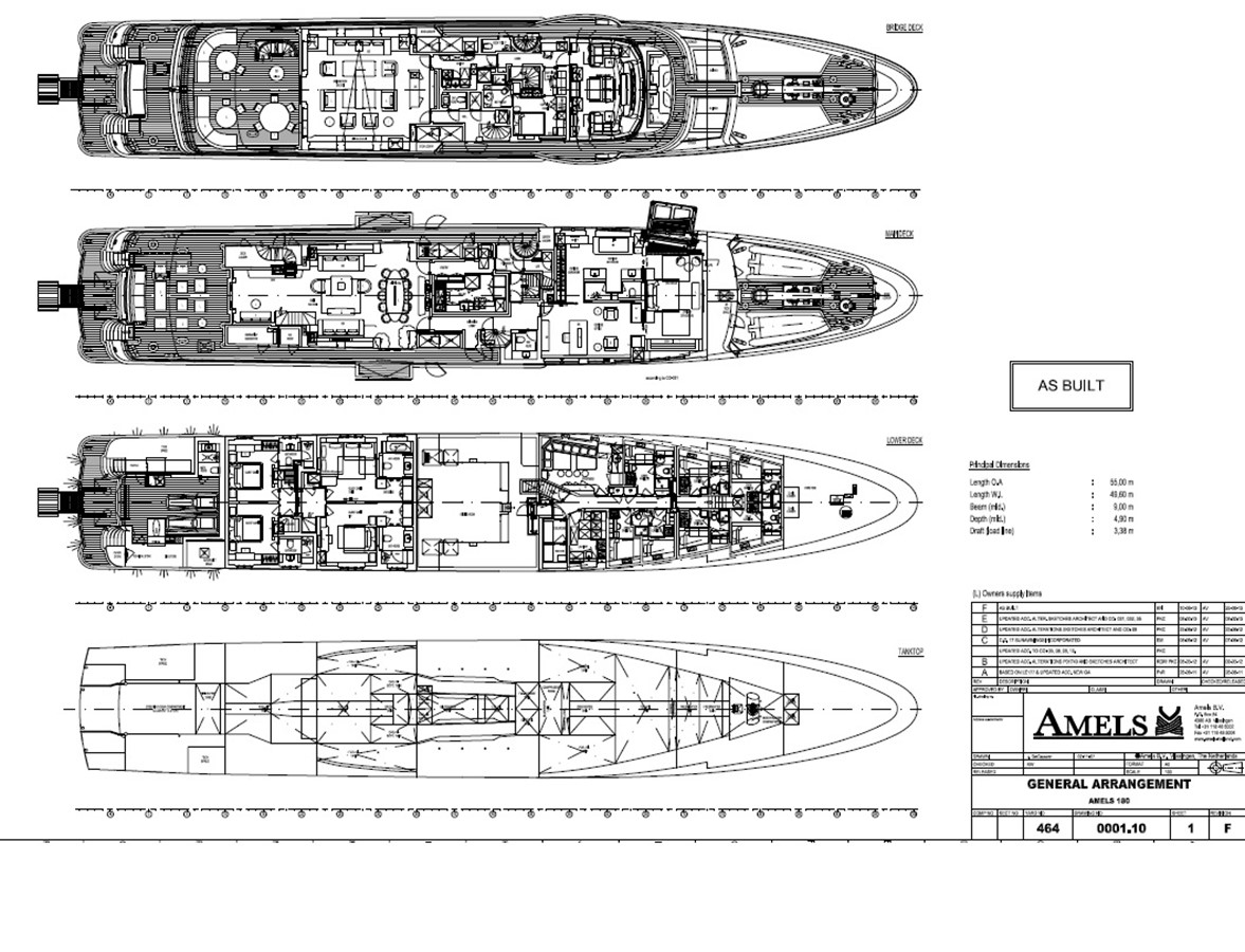 2013 AMELS  Motor Yacht 2327060