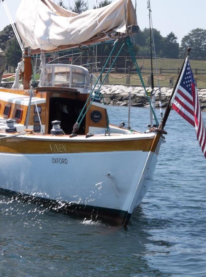 Stern Port  1955 RALPH WILEY  Sloop 2321057