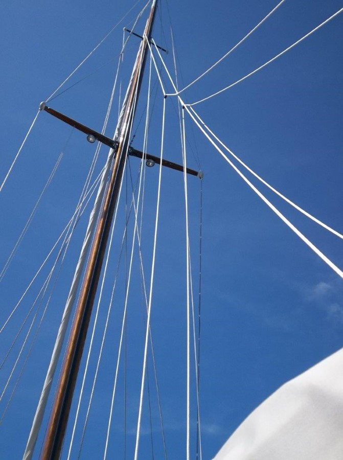 Mast 1955 RALPH WILEY  Sloop 2321063