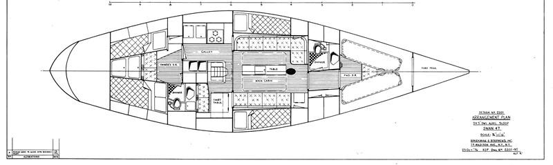 1981 NAUTOR  Aft Cockpit 2321958