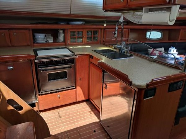 2008 HUNTER 45 Deck Salon Deck Saloon 2340545