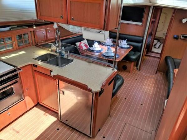 2008 HUNTER 45 Deck Salon Deck Saloon 2340547