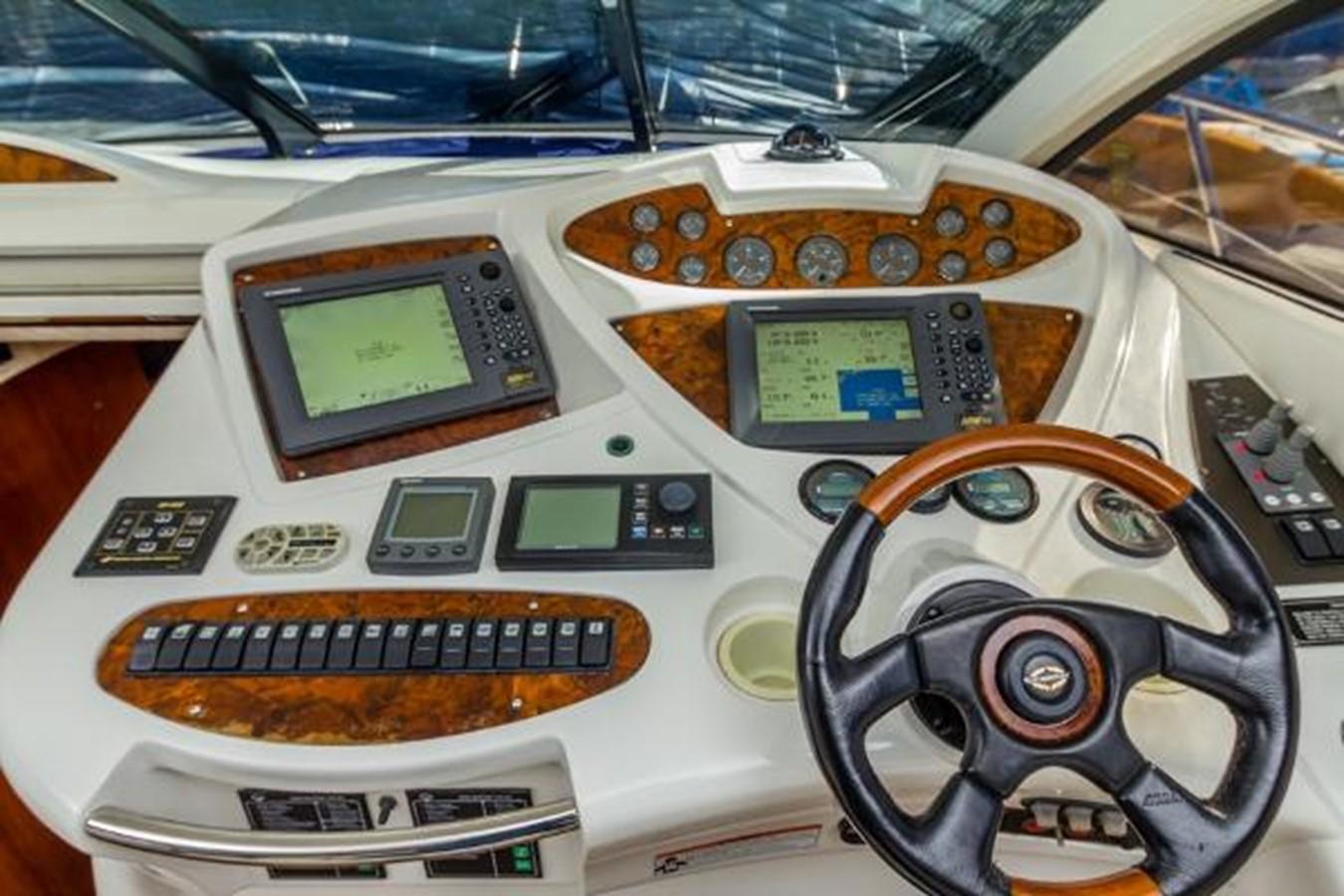 Helm Cockpit 2003 SUNSEEKER Predator 61 Express 2418761