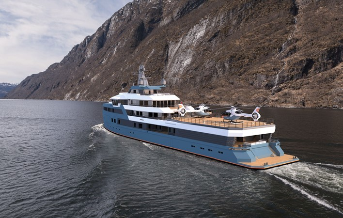 2023 DAMEN  Expedition Yacht 2328950