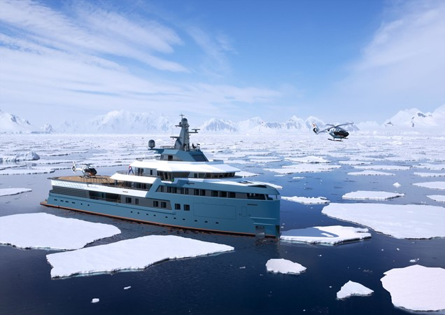 2023 DAMEN  Expedition Yacht 2328955