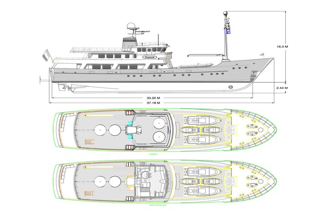 2003 JFA Luxury Exploration Vessel Expedition Yacht 2335209
