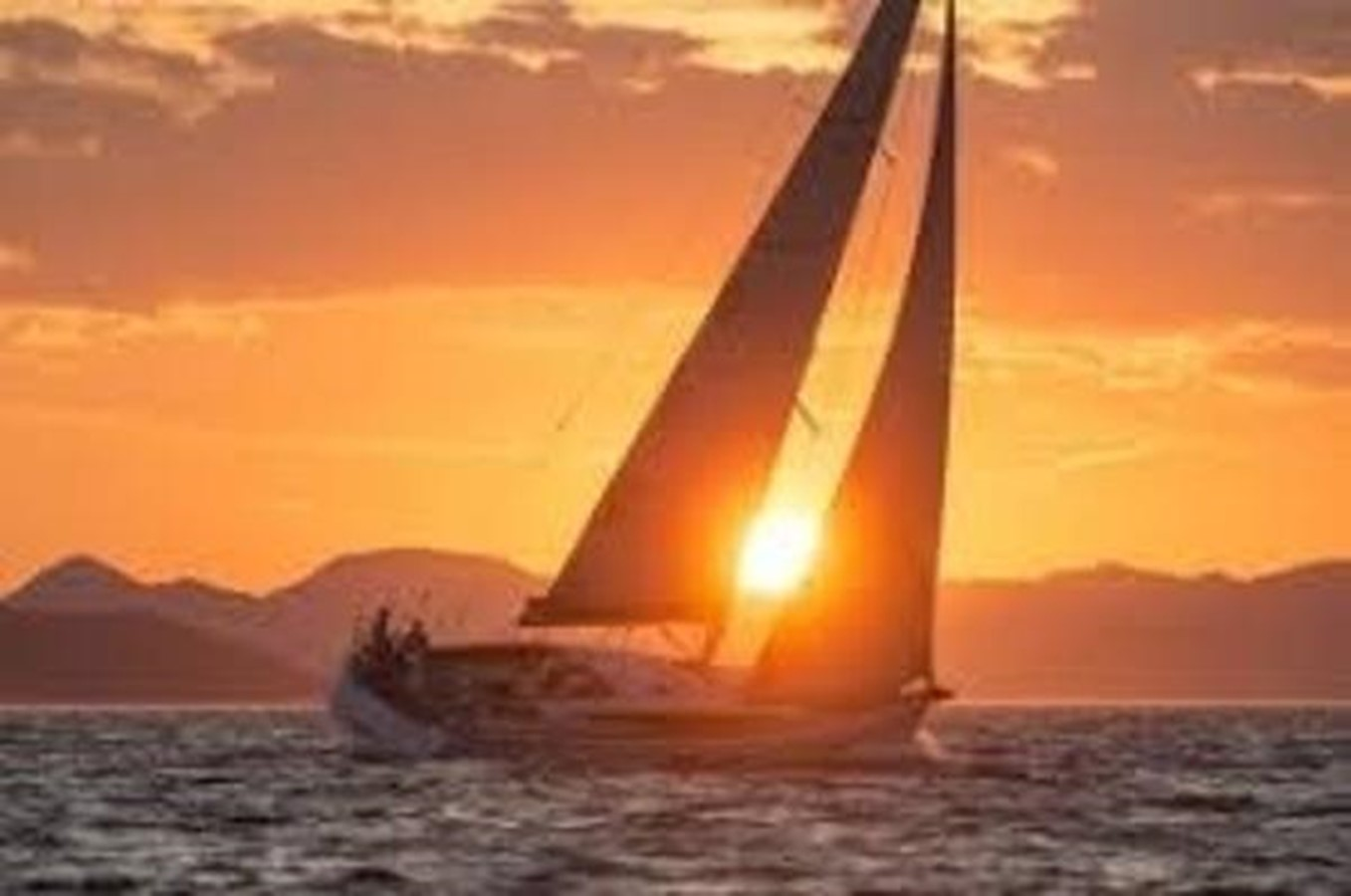 Under Sail Sunset 2007 HUNTER 49 Cruising Sailboat 2336198