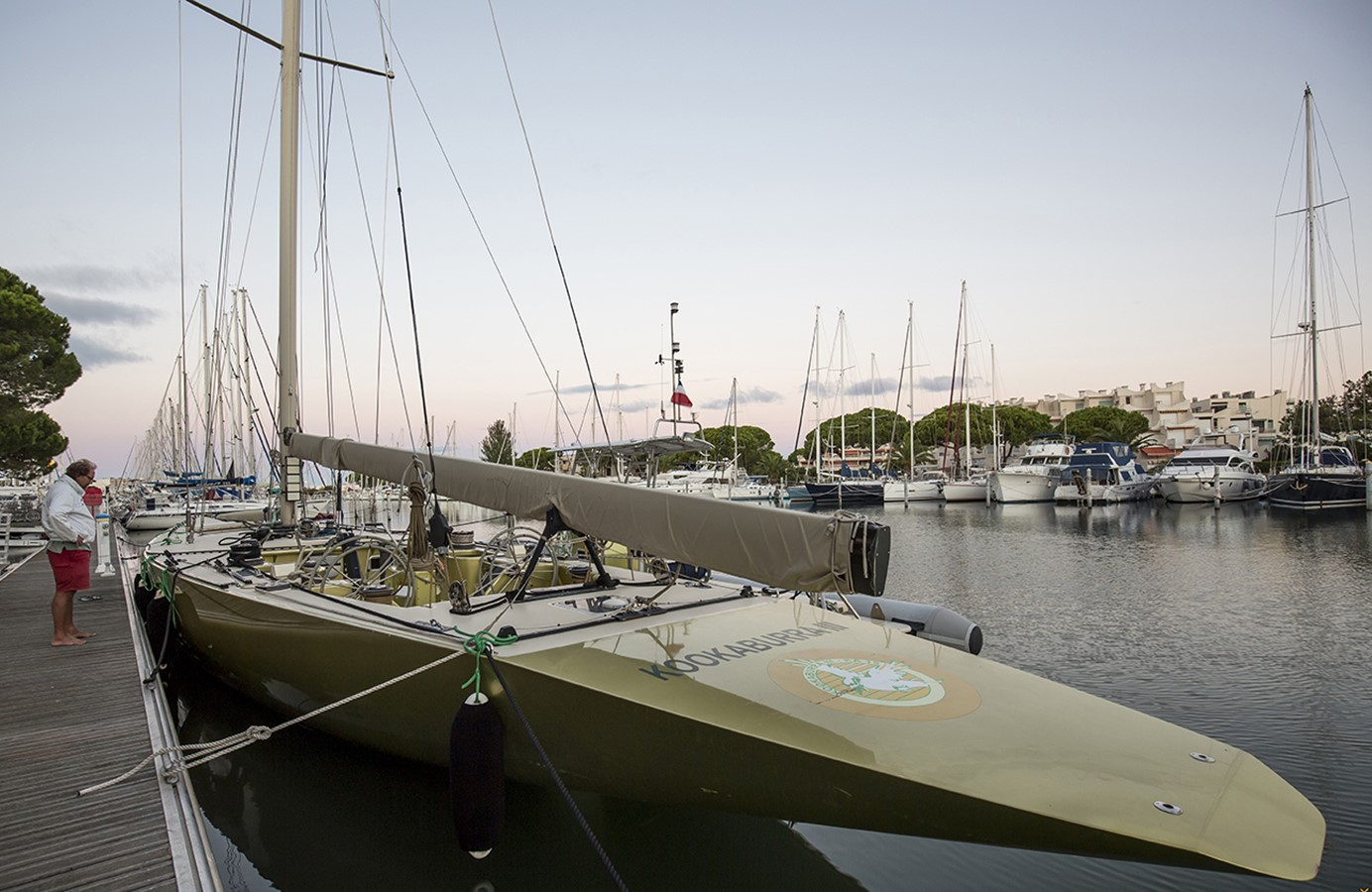 1986 PARRY SYNDICATE 12 Meter Racing Sailboat 2336581