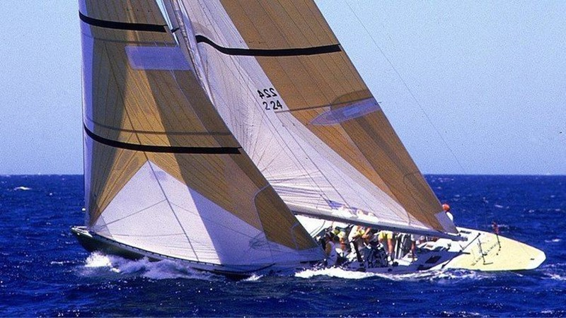 1986 PARRY SYNDICATE 12 Meter Racing Sailboat 2336572